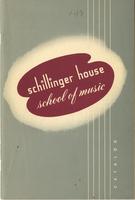 1952-1953 : Schillinger House School of Music - Catalog