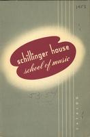 1953-1954 : Schillinger House School of Music - Catalog
