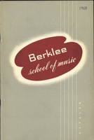 1958-1959 : Berklee School of Music - Catalog