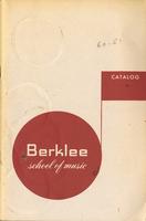 1960-1961 : Berklee School of Music - Catalog