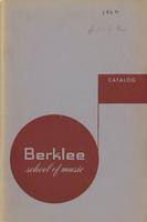 1961-1962 : Berklee School of Music - Catalog