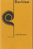 1964-1965 : Berklee School of Music - Catalog