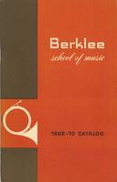 1969-1970 : Berklee School of Music - Catalog