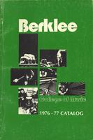 1976-1977 : Berklee College of Music -  Catalog