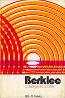 1974-1975 : Berklee College of Music - Catalog